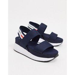 - Sandales style sport à bande - Bleu - Tommy Hilfiger - Modalova