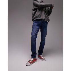 Jean slim stretch - Délavage moyen - Topman - Modalova