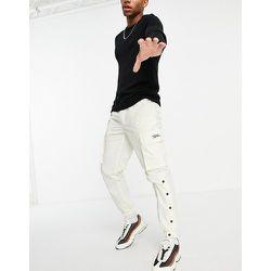 Pantalon cargo à logo signature - cassé - Topman - Modalova
