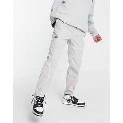Pantalon décontracté d'ensemble style jogger avec liseré - clair - Topman - Modalova