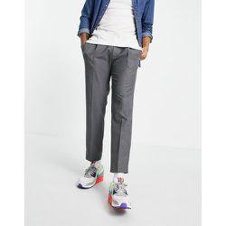 Pantalon fuselé à plis - Topman - Modalova
