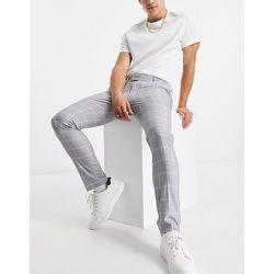Pantalon skinny à carreaux - Topman - Modalova