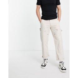 Pantalon style charpentier - Écru - Topman - Modalova