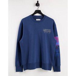 Sweat-shirt à imprimé «Discovery» - marine - Topman - Modalova