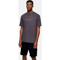 T-shirt à imprimé Hollywood - délavé - Topman - Modalova