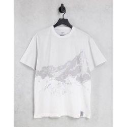 T-shirt oversized à imprimé signature grande montagne - Topman - Modalova