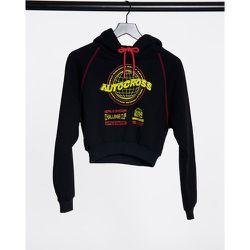 Hoodie à slogan Autocross - Topshop - Modalova