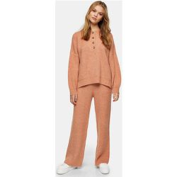 Pantalon en maille - Rose thé - Topshop - Modalova