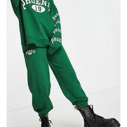 Petite - Pantalon de jogging à motif Phœnix - Topshop - Modalova
