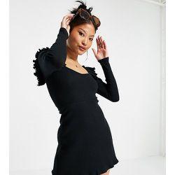 Petite - Robe style sweat à capuche courte - Topshop - Modalova