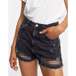 Short en jean déchiré - Topshop - Modalova
