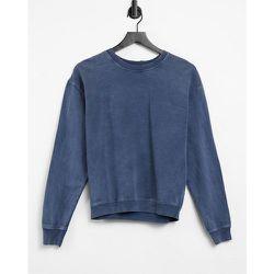 Sweat-shirt délavé à l'acide - Topshop - Modalova