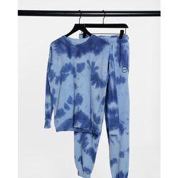 Sweat-shirt d'ensemble effet tie-dye - délavé - Topshop - Modalova