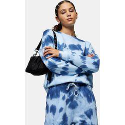 Sweat-shirt - chiné tie-dye - Topshop Tall - Modalova