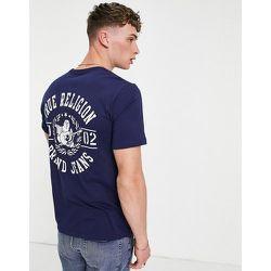 T-shirt ras de cou à logo - True Religion - Modalova