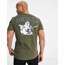 T-shirt ras de cou à logo Buddha - True Religion - Modalova