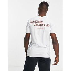T-shirt avec inscription motif camouflage - Under Armour - Modalova