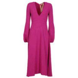 Robe De Soiree - Fuchsia - N°21 - Modalova