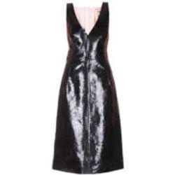 Robe Au Genou - Noir - N°21 - Modalova