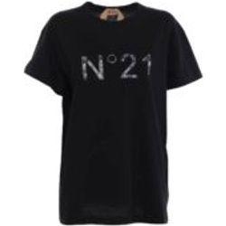 T-Shirt - Noir - N°21 - Modalova