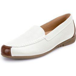 Les mocassins cuir, surpiqûres mode taille 42 - Gabor - Modalova