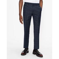Slim Fit Checked Suit Trouser - Ted Baker - Modalova