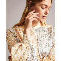 Mixed Leopard Print Dress - Ted Baker - Modalova