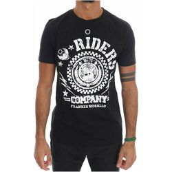 Riders Crewneck T-Shirt , , Taille: S - Frankie Morello - Modalova