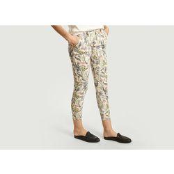 Sandy Floral Print 7/8 Length Trousers - Reiko - Modalova