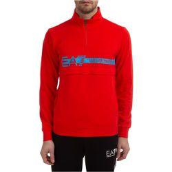 Sweatshirt with zip , , Taille: M - Emporio Armani EA7 - Modalova