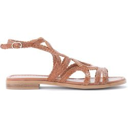 Low sandal in woven leather , , Taille: 37 - Pons Quintana - Modalova