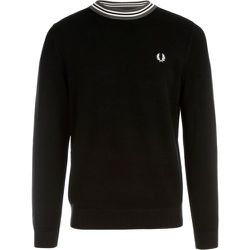 Striped Neck Jumper , , Taille: S - Fred Perry - Modalova