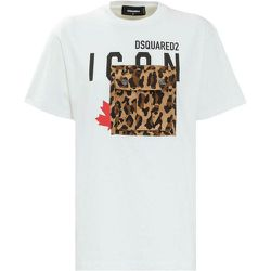 T-shirt with Pocket , , Taille: M - Dsquared2 - Modalova