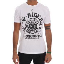 Riders Crewneck T-Shirt , , Taille: M - Frankie Morello - Modalova
