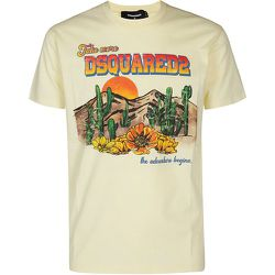 D2 Desert Cool t-shirt , , Taille: 2XL - Dsquared2 - Modalova