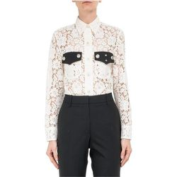 Lace Shirt with Contrast Pocket , , Taille: L - Calvin Klein - Modalova