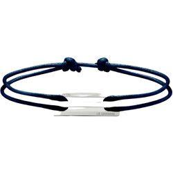 The 25/10g Cord Bracelet , unisex, Taille: Onesize - Le Gramme - Modalova
