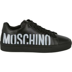 Baskets en cuir à logo d'occasion , , Taille: 40 IT - Moschino Pre-owned - Modalova