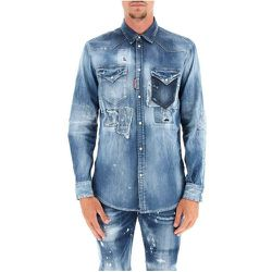 Denim shirt , , Taille: 50 IT - Dsquared2 - Modalova