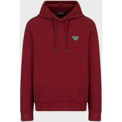 Emoji Recycle hooded, recycled-jersey sweatshirt , , Taille: XL - Emporio Armani - Modalova