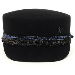 Abby felt and sequins beret , , Taille: S - Maison Michel - Modalova