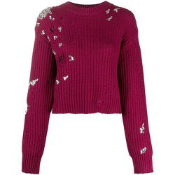Crystal Crop Sweater , , Taille: M - Dsquared2 - Modalova
