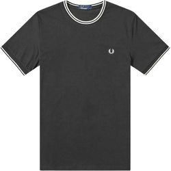 Twin Tipped T-shirt , , Taille: M - Fred Perry - Modalova