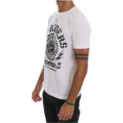Riders Crewneck T-Shirt - Frankie Morello - Modalova