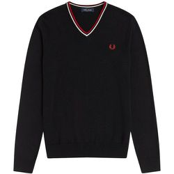 Authentic Classic V-Neck Jumper , , Taille: XL - Fred Perry - Modalova