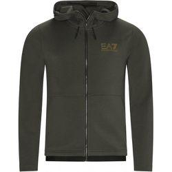 Sweat zippé capuche , , Taille: XS - Emporio Armani EA7 - Modalova