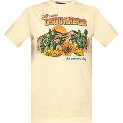 Printed T-shirt , , Taille: XS - Dsquared2 - Modalova