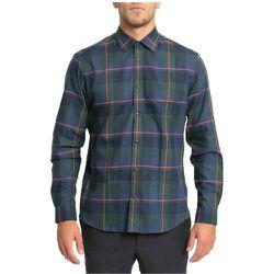 Check Single-Breasted Shirt , , Taille: L - Z Zegna - Modalova