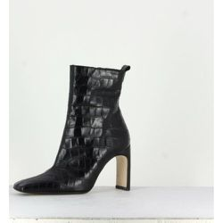Marcelle Croc Leather Boots Miista - Miista - Modalova