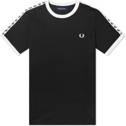 Authentic Taped Ringer T-shirt , , Taille: XL - Fred Perry - Modalova